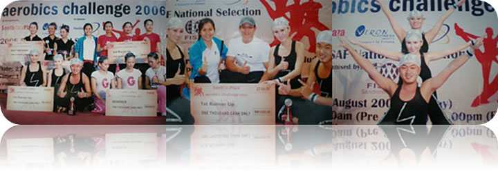 August 2006: South City Plaza KL Aerobics Challenge 2006 @ KL