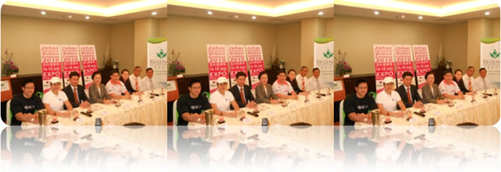 June 2010: International Wellness Exhibition Press Conference @ Regency Hospital Johor