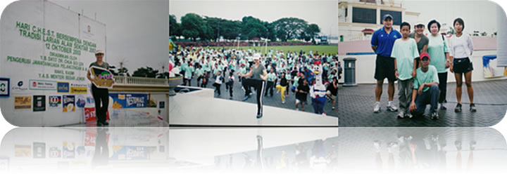 October 2003: C.H.E.S.T (e-Run) @ Dataran Bandaraya JB