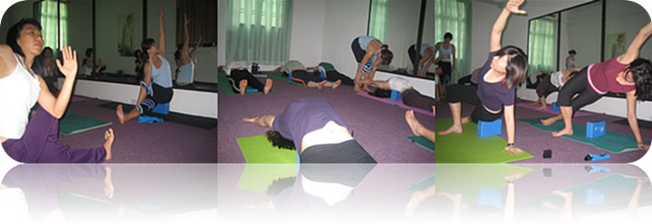December 2007: (Batch 1) Restorative Yoga Workshop