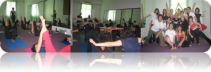 January 2008: (Batch 2) FLOW Yoga Workshop