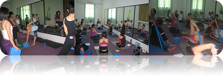January 2008: (Batch 2) Restorative Yoga Workshop