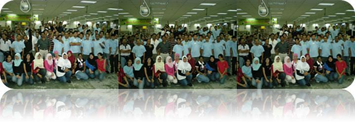 July 2008: WellFIT Program by Veronica Yap @ Raspican Sdn Bhd, Johor, Malaysia