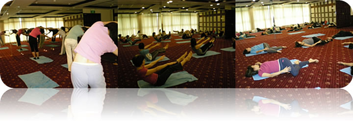 NOV 2008: YOGA ESSENCE Workshop by Veronica @ National University Singapore Staff Club